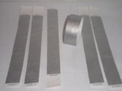 500 SILVER Premium Tyvek Wristbands