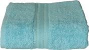 """Sensei La Maison du Coton """"The House of Cotton"""" 097062.07 Cotton Guest Towel 30 x 50 cm Turquoise Blue"""