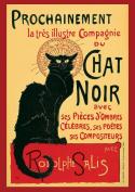 Classic Vintage Le Chat Noir Reproduction A3 Poster / Print 260GSM Photo Paper