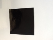 50 Black 10cm inch Square Bathroom/Kitchen Tile Transfer Stickers Cheap and cost effective