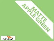 Apple Green Matte 150mm Kitchen & Bathroom Wall Tile Transfers,