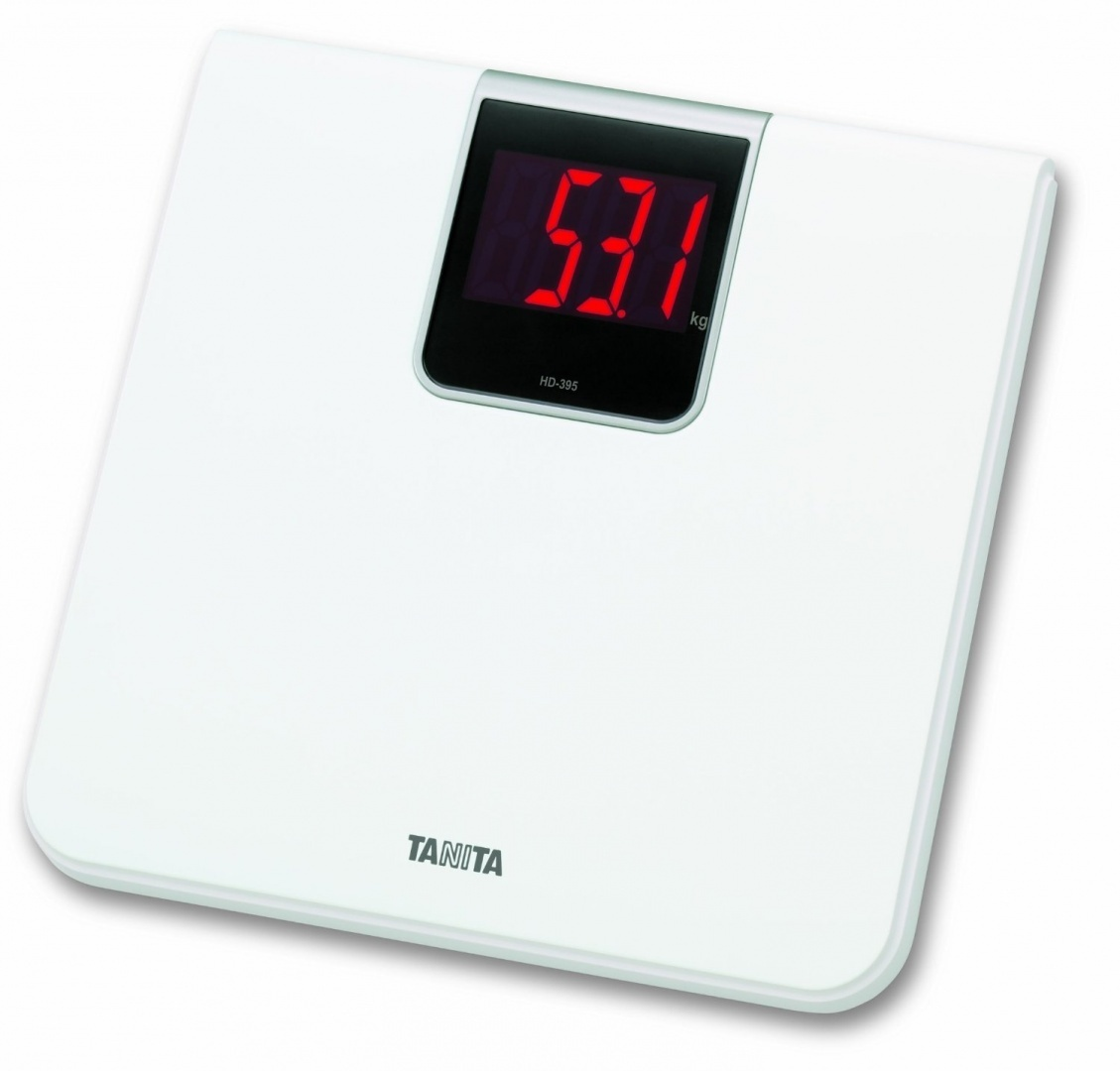Cool Tanita Hd 395 Wh White Digital Bathroom Scale Download Free Architecture Designs Scobabritishbridgeorg