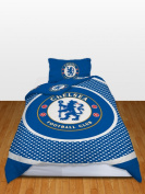 Chelsea Official Reversible Single Duvet Cover Set - Multi-Colour