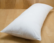 Maternity, Pregnancy, Bolster Extra Long Support Pillow : Single Bed Size 90cm Made in the UK by Sleep & Smile