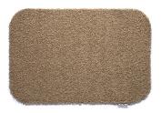 50cm x 75cm HUG RUG (stone design) machine washable doormat dirt trapper absorber door mat