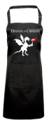 Game of Thrones Apron, Fan Gift Idea, Dinner is Coming, Dragon