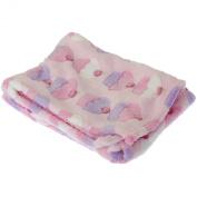 Baby Cupcake/Giraffe Design Boy/Girl Soft Pram Blanket (73cm x 100cm)