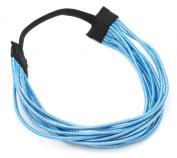 Zest Multi Strand Metallic Lurex Headband Hair Accessories Blue