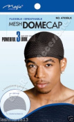 Magic Collection Flexible Mesh Dome Cap No 4703BLK