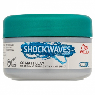 Shockwaves Ultimate Effects Go Matt Clay 75 ml (Pack of 6)