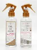 Oil of Aloe Pro Salon Heat Defence Protection Straightening Spray Strong Hold 200ml