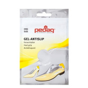 Pedag heel support gel non-slip for ideal grip in the shoe self-adhesive insole one size 138