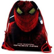Spiderman 00740 Shoe Bag, Red