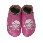 SILLY SOULS- Soft Sole Leather Baby Boy or Girl Shoes
