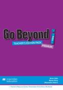 Go Beyond Teacher's Edition Pack Intro A1 + Teacher's Resource Center, Presentation Kit + Online Workbook