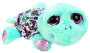 Suki Gifts Lil Peepers Fun Peace and Love Turtle Plush Toy with Silver Sparkle Accents