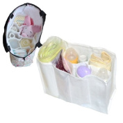 Baby Nappy Nappy Changing Storage Bag 7 Liner Cell Divider Mother Bag