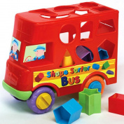 Pushalong Bus Shape Sorter - Suitable .