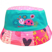 Baby Girls Birdie & Turtle Bucket Style Summer Sun Beach Hat