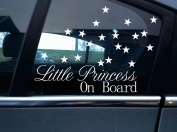 Little Princess on board sticker and 20 tiny star Stickers.