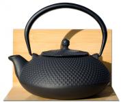 ARARE Tetsubin Japanese style Cast Iron black hobnail tea pot kettle 1.1L