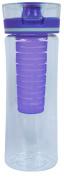 Cool Gear Ripple Infuser Bottle, Purple