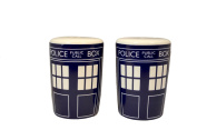 Doctor Who Tardis Salt and Pepper Shakers Set