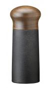 Skeppshult 0074 - Herb/Pepper Mill Cast Iron Grinder with Walnut Wood Lid, 15 cm