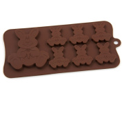 Silicone Easy Choc Easter Bunnies Mould