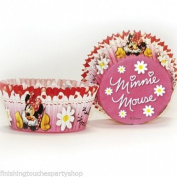 Finishes Touches Party Store 50 Minnie Mouse Birthday /Party Red & White Polka Dot Cupcake Cake Cases