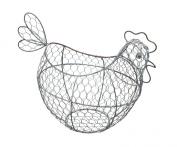Kitchen Craft Wire Egg Basket