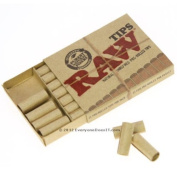 RAW NATURAL UNREFINED PRE-ROLLED TIPS - 1 PACK(21 TIPS) BY TRENDZ