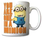 Despicable me one in a minion mug coffee tea cup