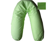 MATERNITY SUPPORT PILLOW with case 190 cm choice of colour & filling