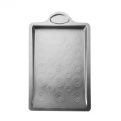 Baker's Advantage Carbon Steel Cookie Pan with Targets, 38cm , 0.6-MM