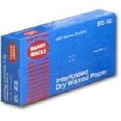 15X10.75 Interfolded Deli Dry Wax Tissue, 500 per pack -- 12 packs per case