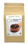 The Good Java Company - Gourmet USDA Organic Fair Trade Swiss Water Process Decaffeinated Small Batch Roasted Coffee (Whole Bean) 350ml