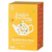 English Tea Shop - Black Tea Chai - 20 Sachet Envelope - 40g