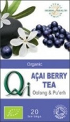 Qi Organic Açai Berry With Oolong & Pu'Erh Tea 20 Bags