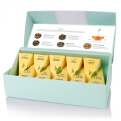 NEW Tea Forte Lotus Petite Presentation Box - Contains Ten Silken Pyramid Infusers