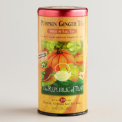 Pumpkin Ginger Tea - 50 cups - natural, unbleached tea bags - 80ml / 80 g