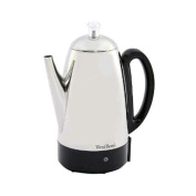 West Bend 12 Cup Stainless Steel Percolator