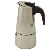6 Cup Stainless Steel Moka Espresso Maker