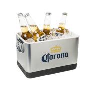 Corona Beer & Ice Bucket - Stainless Steel