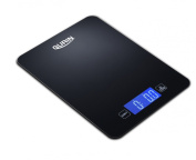 Gurin Touch Professional Digital Kitchen Scale (5.4kg Edition), Tempered Glass in Elegant Black