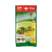 Debbie Meyer GreenBags Freshness-Preserving Food /Flower Storage Bags, Variety, 10-Pack