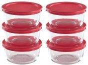 World Kitchen Pyrex 12-Piece, 2-Cup Food Plus Storage Set