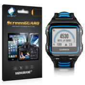 6 x Membrane Screen Protectors for Garmin Forerunner 920 XT - Crystal Clear, Retail Package, Installation Kit