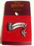 Wizarding World of Harry Potter : Ravenclaw Banner with Mascot Charm Metal Trading Pin