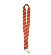 Wizarding World of Harry Potter Gryffindor Striped Tie Pin Lanyard